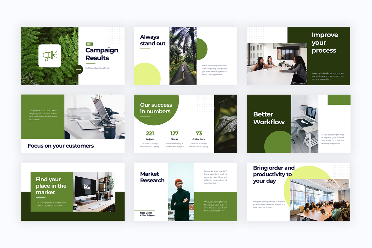 Marketing Agency Templates