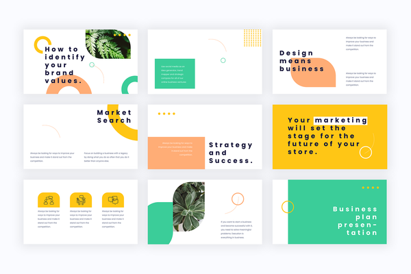 Work Quality Presentation Templates