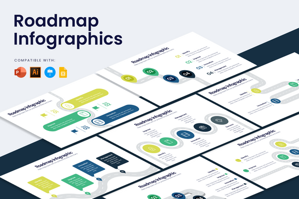 Roadmap Infographic Templates