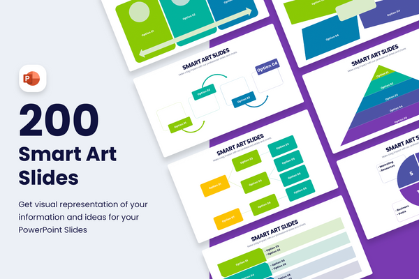Smart Art Powerpoint Templates