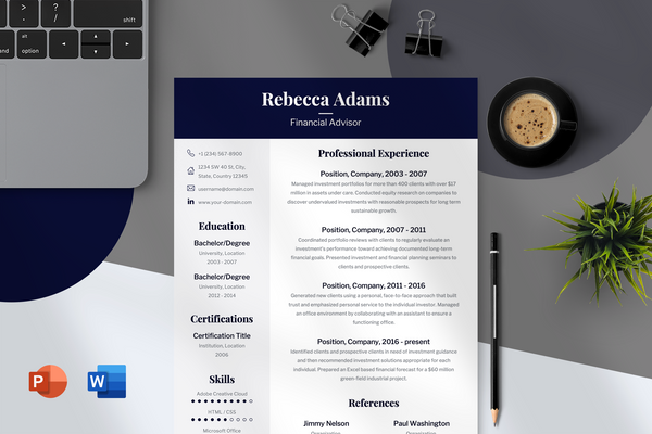 Stella Resume Template