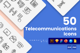Telecommunications Icons