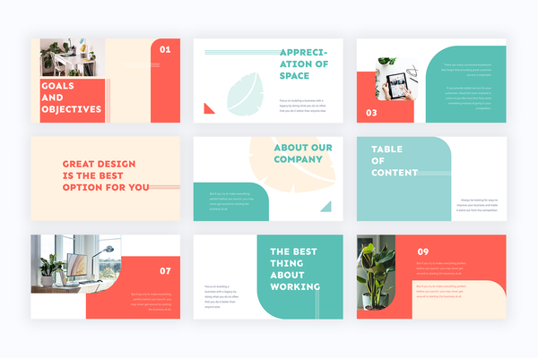 Tropical Presentation Templates