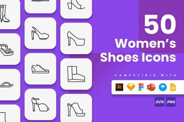 Women's Shoes Icons