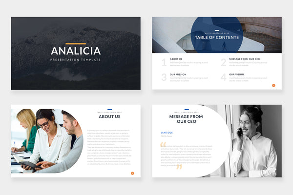Analicia Powerpoint Template