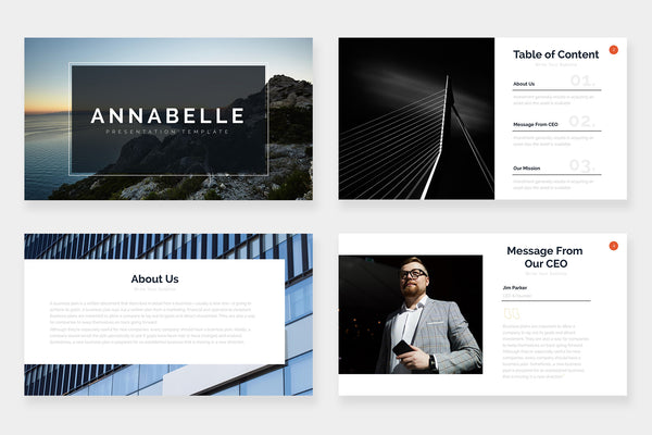 Annabelle Keynote Template