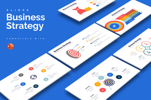 Business Strategy Powerpoint Infographics