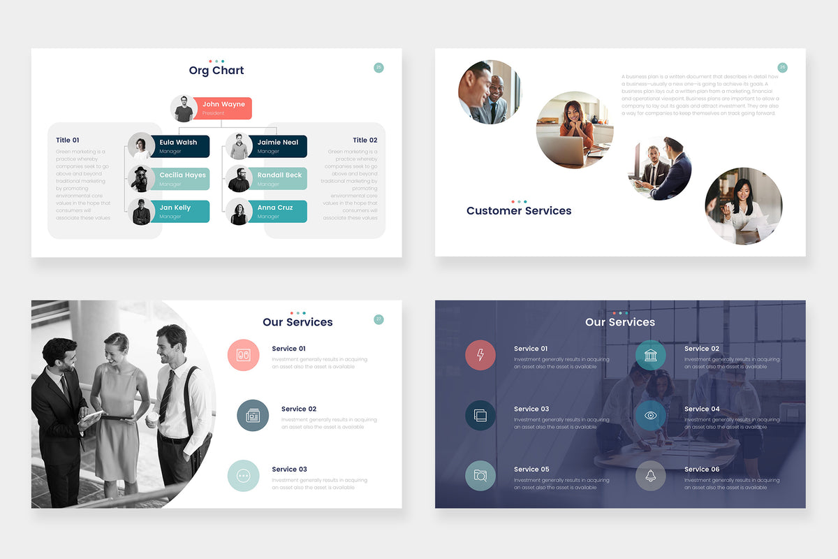 Coral Powerpoint Template