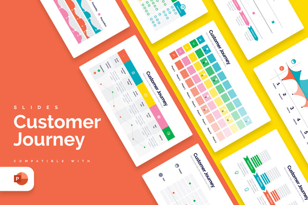 Customer Journey Powerpoint Infographics