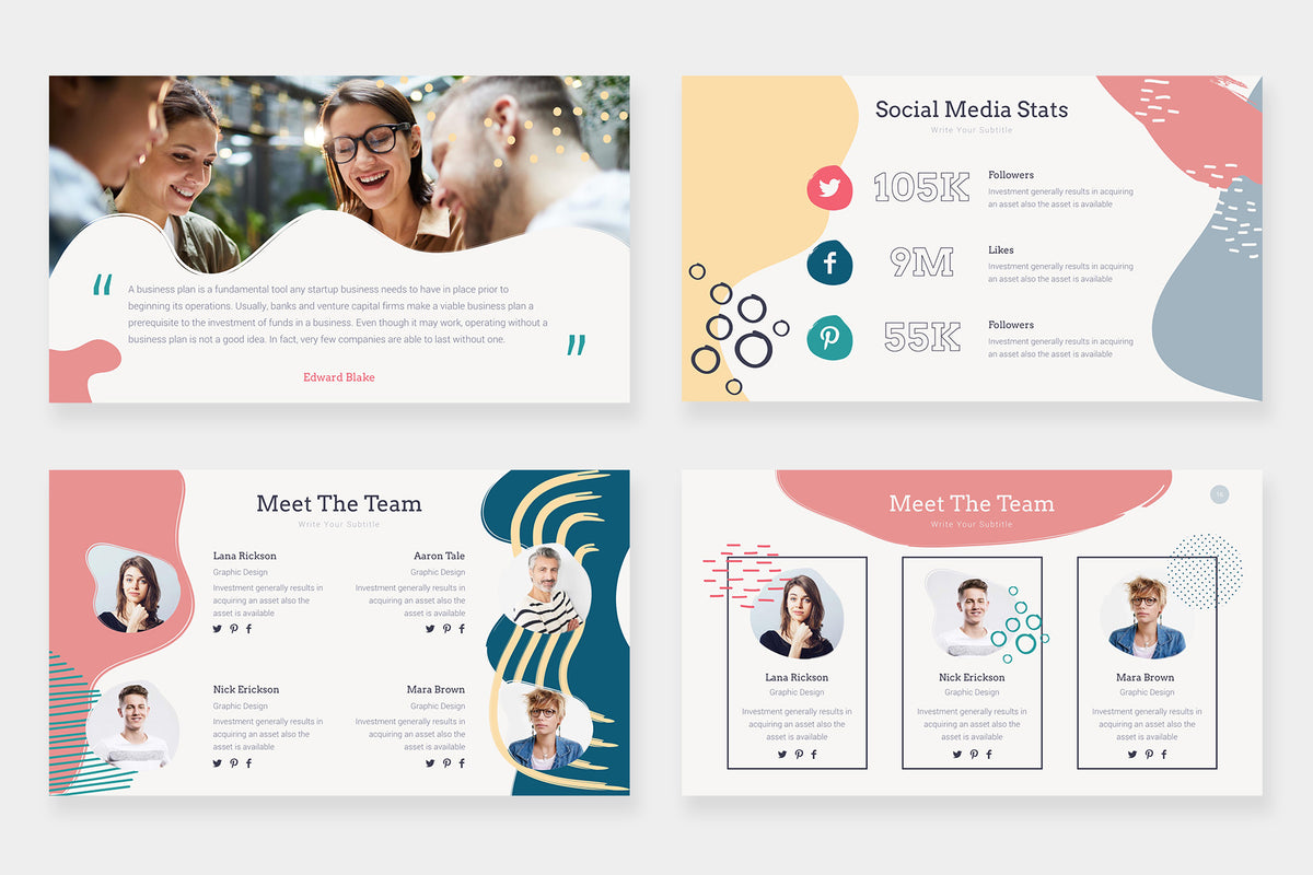 Daisy Keynote Template