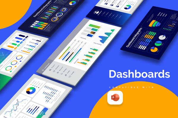 Dashboard Powerpoint Infographics
