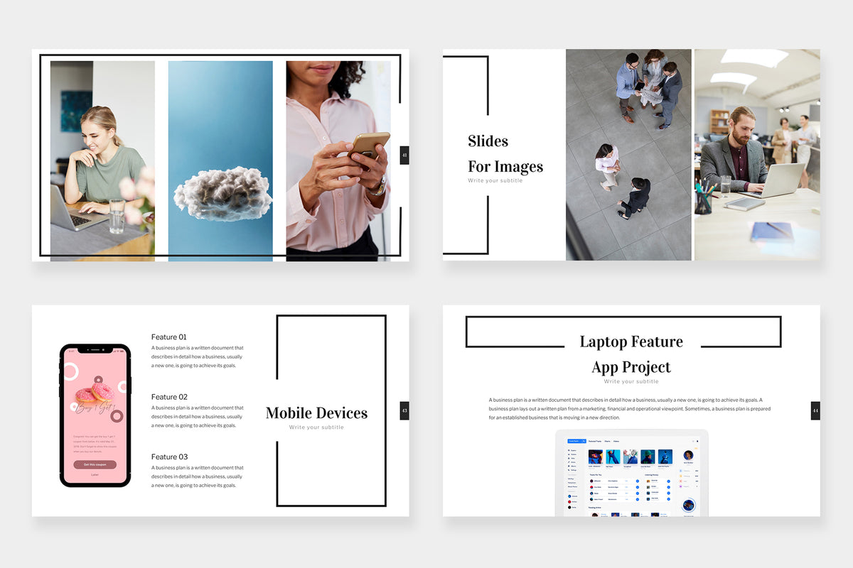Ezra Google Slides Template