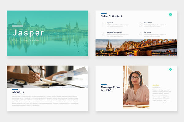 Jasper PowerPoint Template