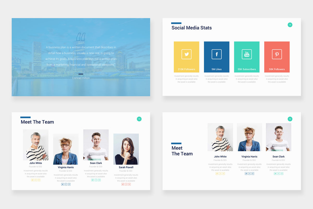 Jasper Google Slides Template