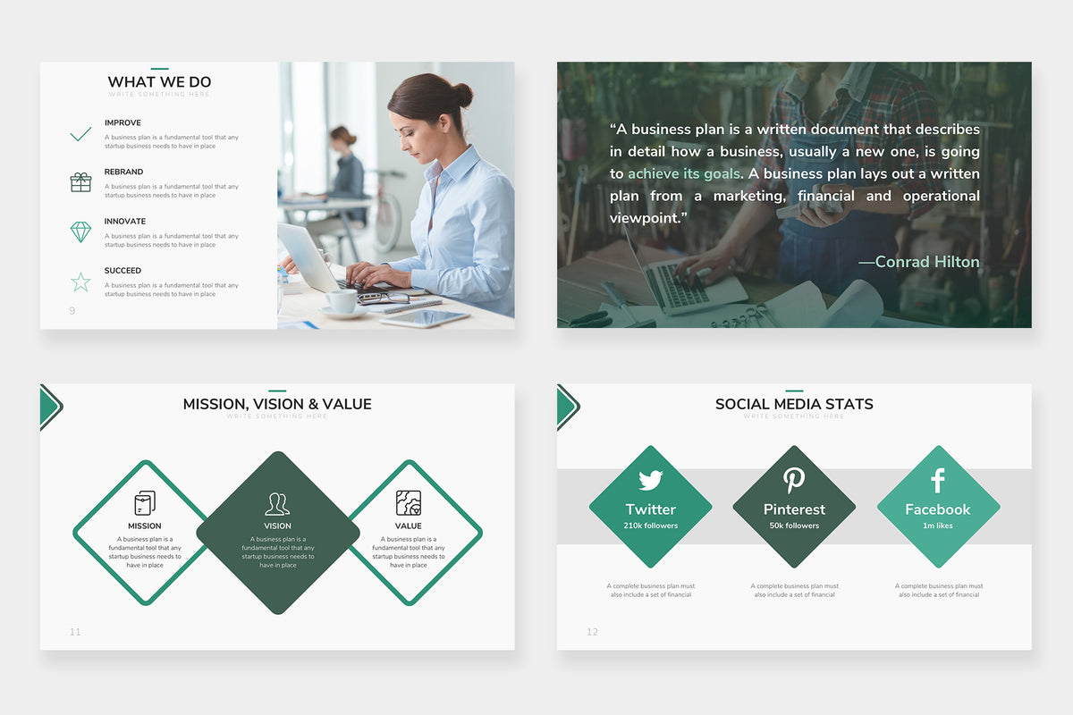 Kyanite Google Slides Template