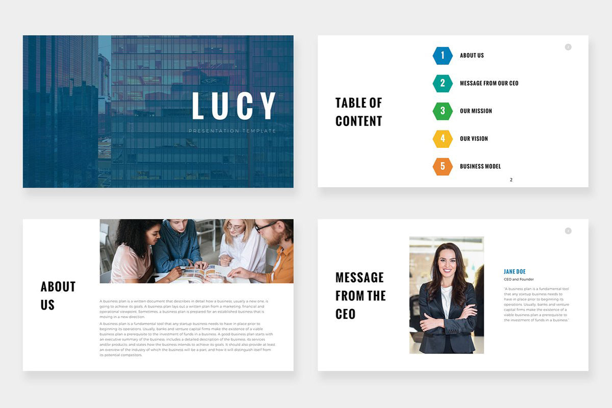Lucy Powerpoint Template