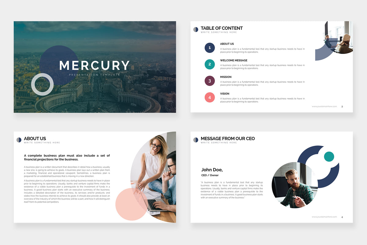 Mercury Keynote Template