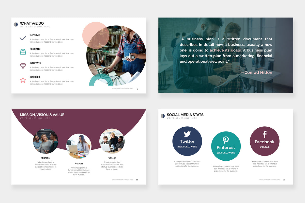 Mercury PowerPoint Template