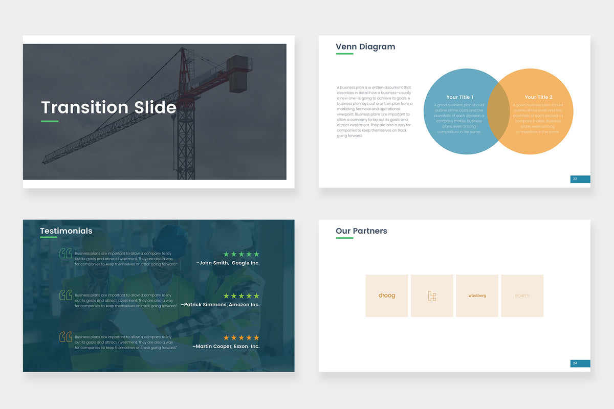 Phoenix Google Slides Template