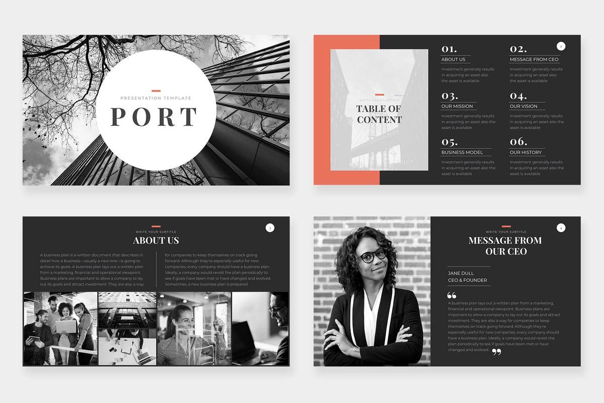 Port Keynote Template