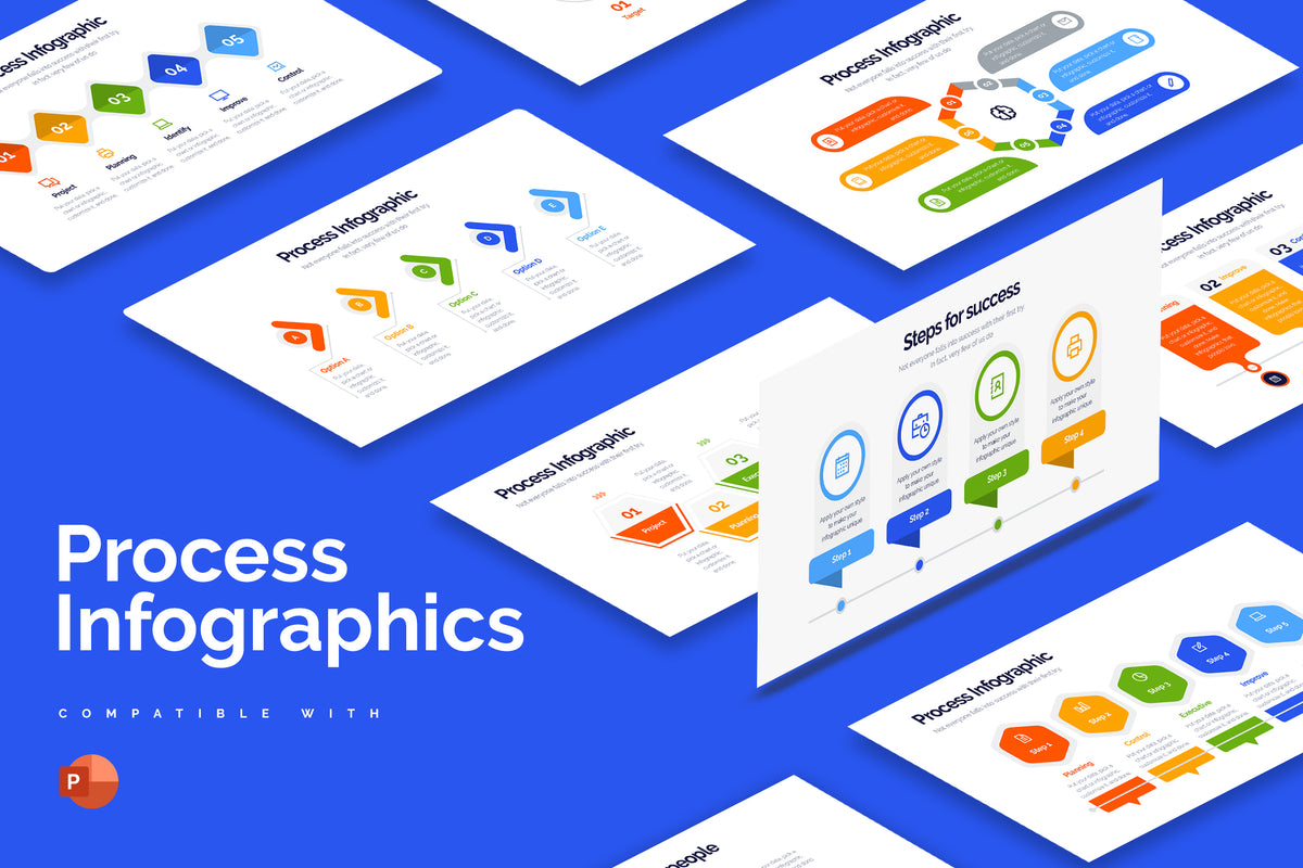 Process Powerpoint Infographics