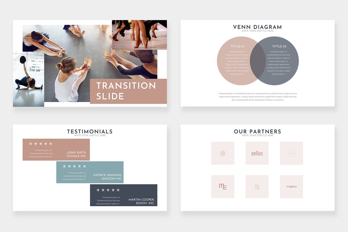Rose PowerPoint Template