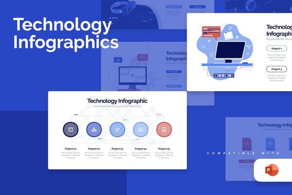Technology Powerpoint Infographics