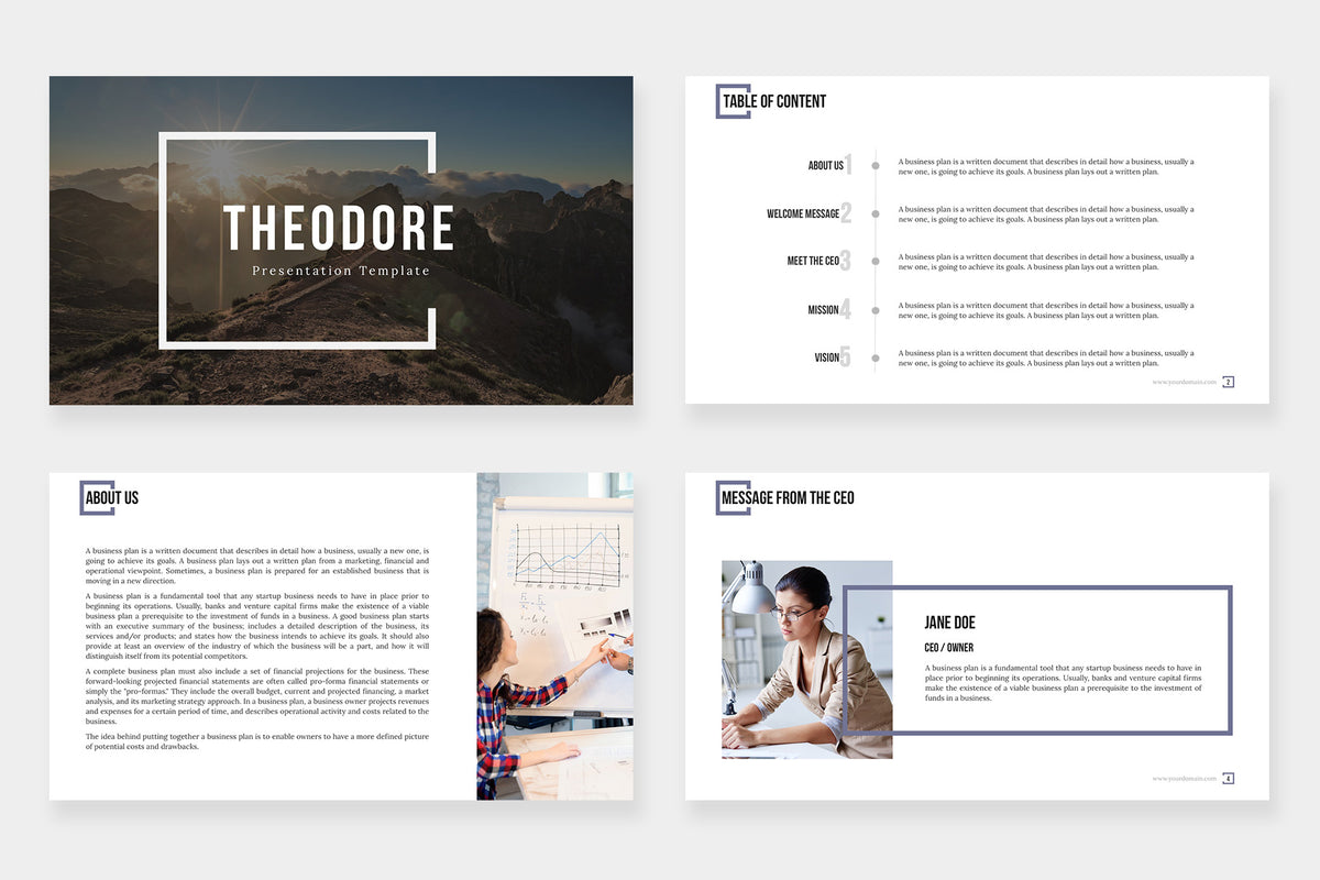 Theodore PowerPoint Template