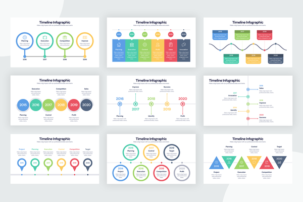 Timeline Infographic Templates