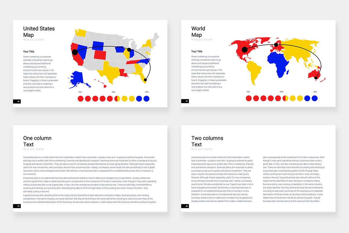 Zurich Google Slides Template