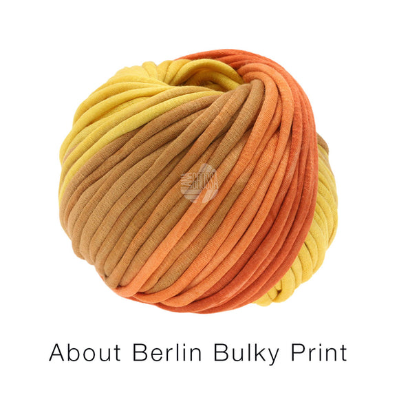 About Berlin Bulky Print