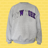 WORK college REsweatshirt (Grey)