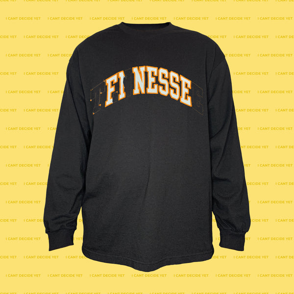 FINESSE LS Shirt (Black1)