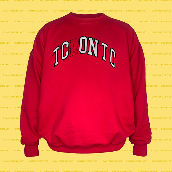 ICONIC REsweatshirt (Red)