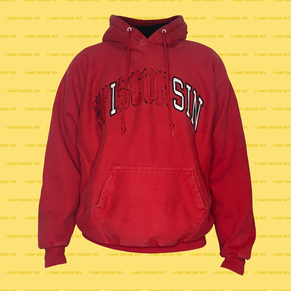 I SIN college REsweatshirt (RED)