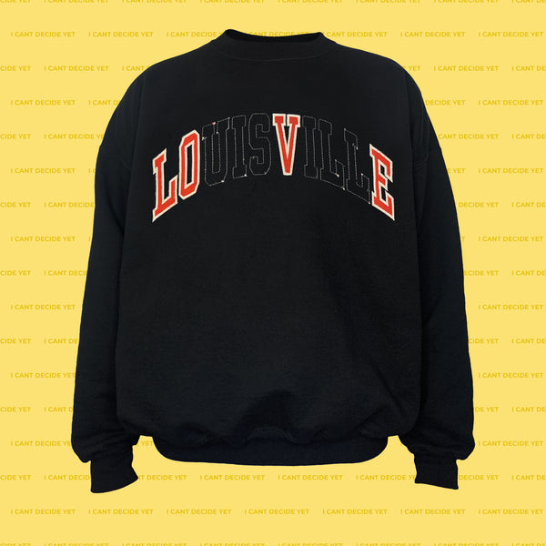 LOVE REsweatshirt (Black)