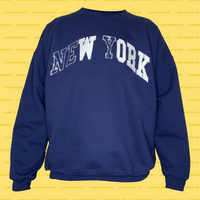WORK college REsweatshirt (Navy)