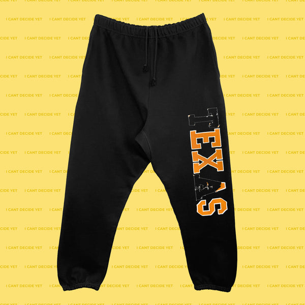 EX'S (Black) Sweatpants