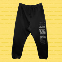 SANE (Black) Sweatpants