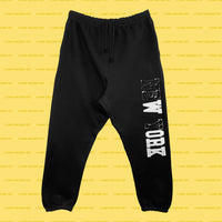 WORK (Black) Sweatpants