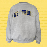 WE VIRGIN REsweatshirt (Grey)