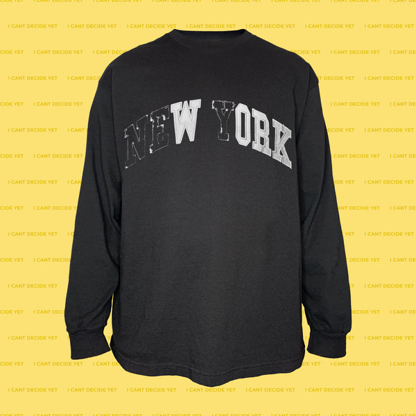 WORK LS Shirt (Black)