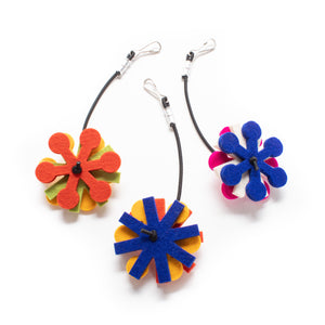 Felt Flowers :: Replacement Hanging Cat Toy