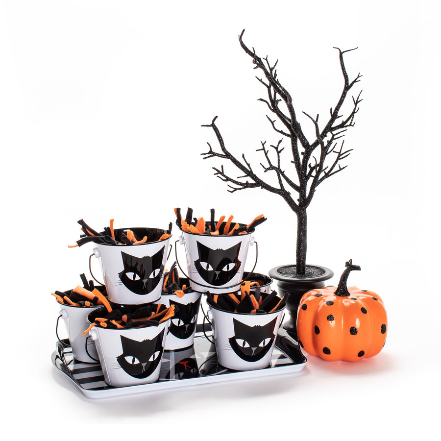 Halloween Cat Toy Treat Tin LIMITED EDITION