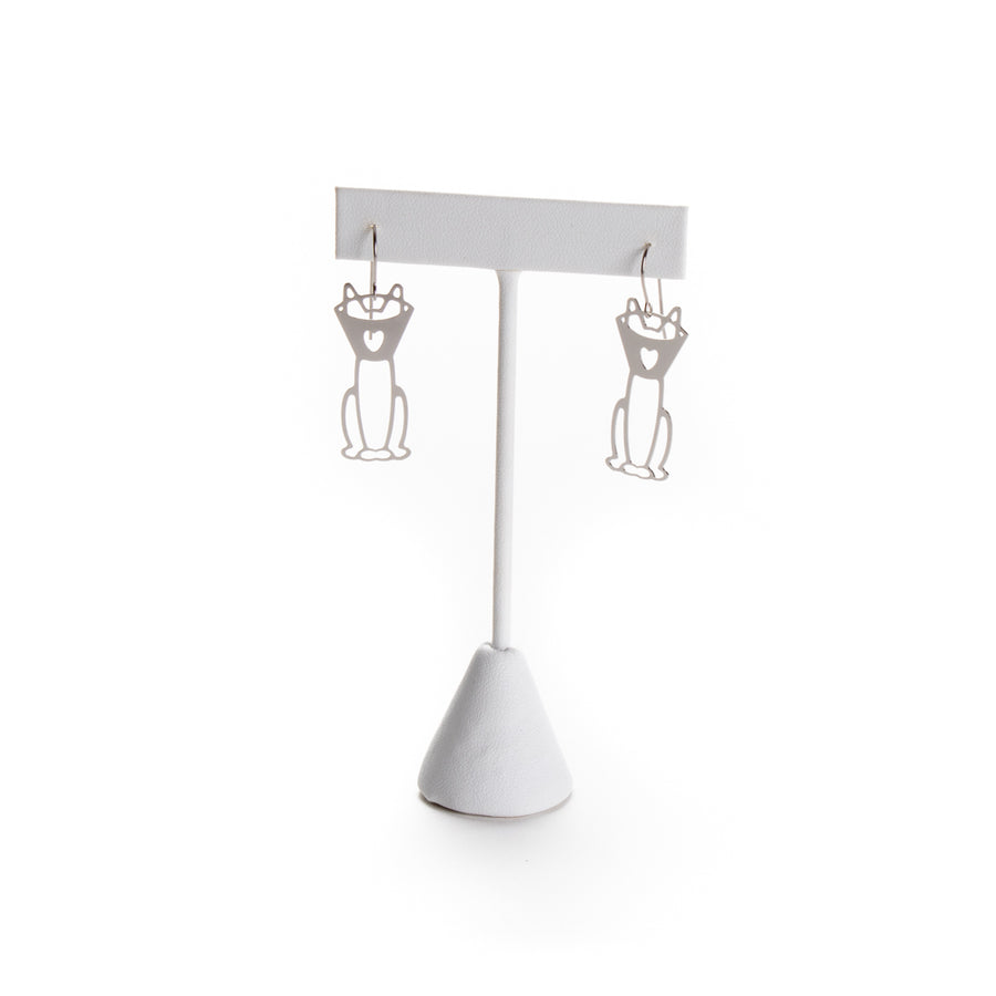 Kitty Cone Love Earrings from Cat Modern