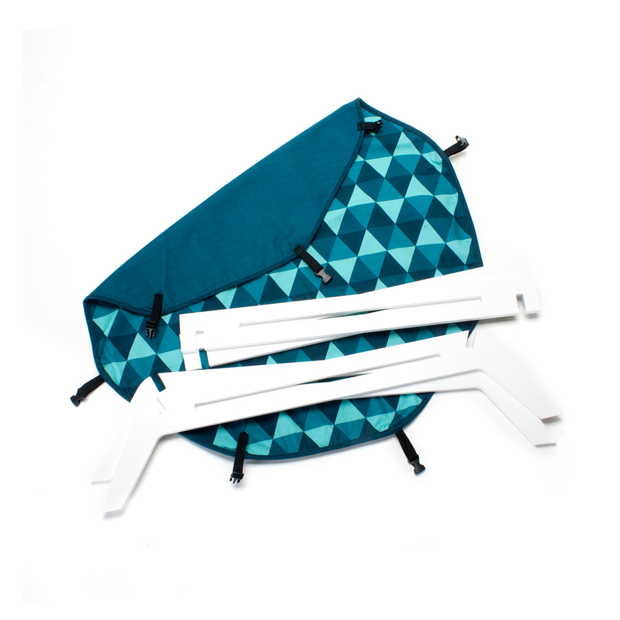 Designer Pet Lounge with Reversible Fabric Hammock from Primetime Petz