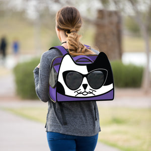 KittyPak Backpack Cat Carrier from the Hauspanther Collection by Primetime Petz