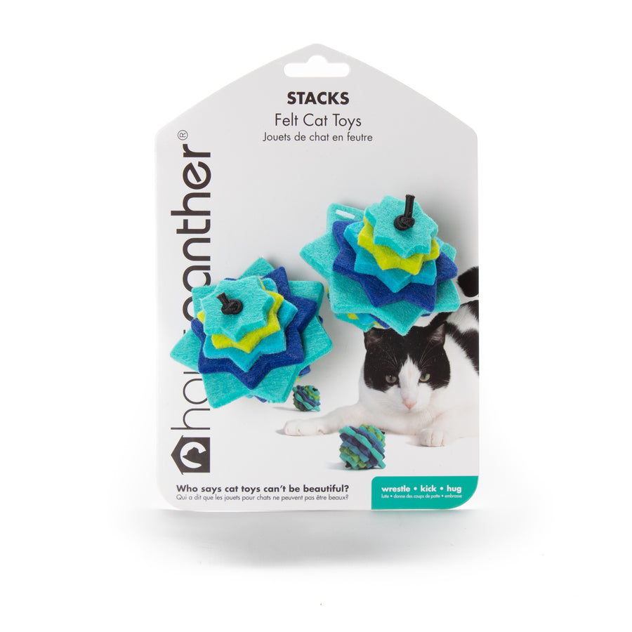Stacks :: Felt Cat Toys (Set of 2 Toys)