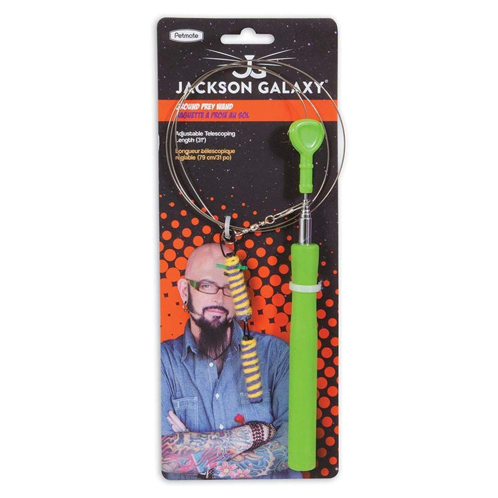 Jackson Galaxy Mojo Maker Ground Prey Wand Cat Toy