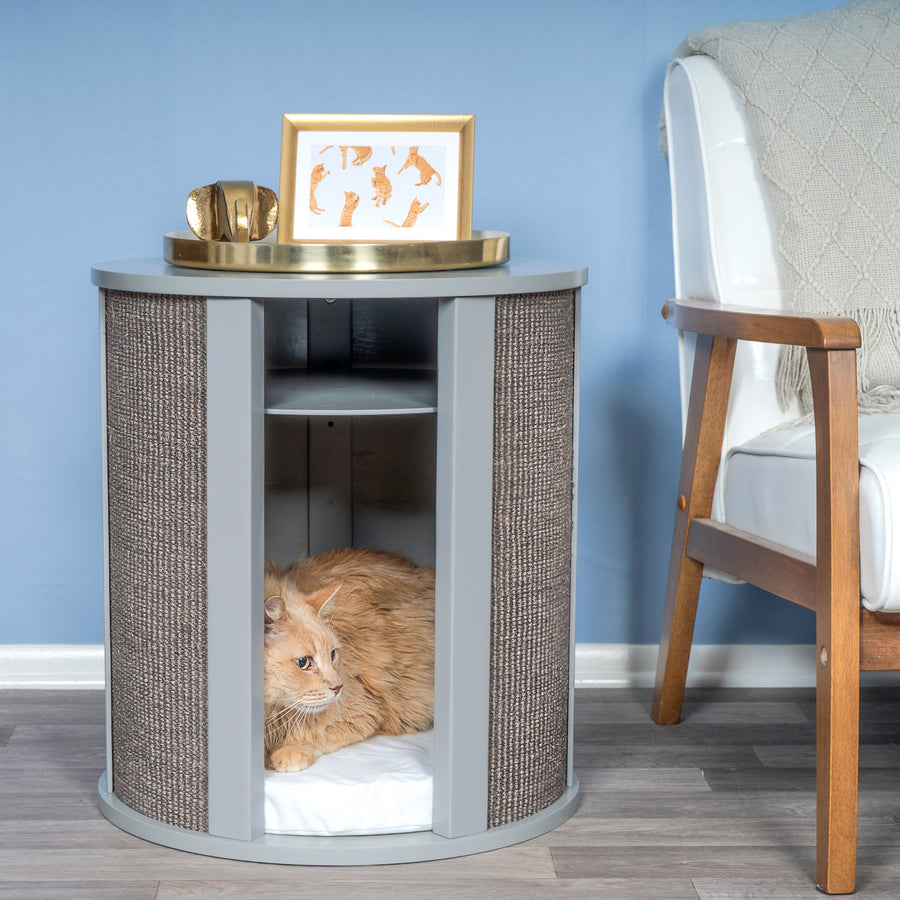 Purrrrfect End Table from The Refined Feline